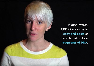 Everything you need to know about CRISPR in 60 seconds